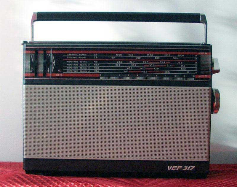 """""""ВЭФ — 317"""" Модель 1987."""